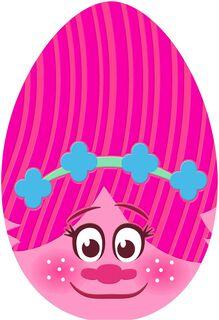 DreamWorks Trolls Poppy Egg Easter Card for Kid,