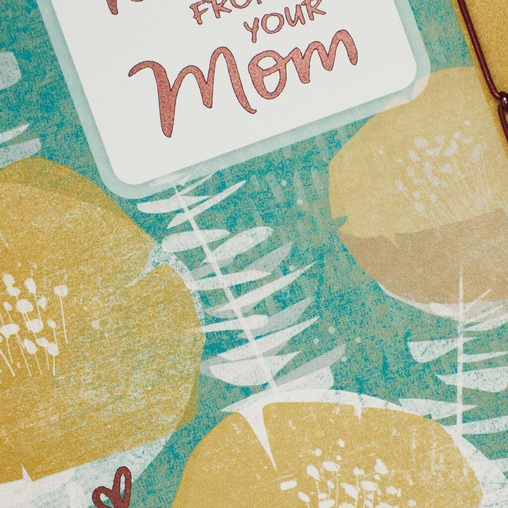 Mom Ill Always Love You Birthday Card For Son From