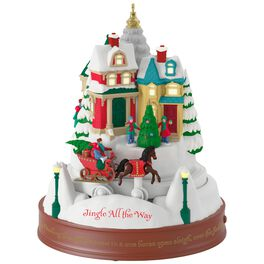 Jingle All the Way Musical Ornament With Light and Motion, , large