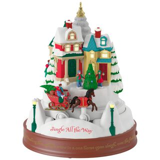 Jingle All the Way Musical Ornament With Light and Motion,