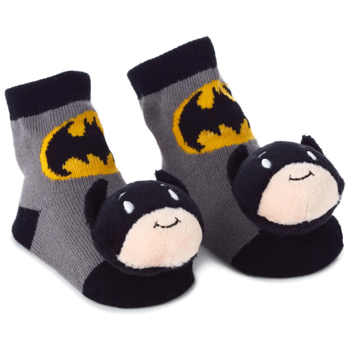 Batman Itty Bittys Baby Rattle Socks Baby Clothes Hallmark