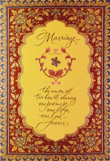 A Beautiful Forever Wedding Card,