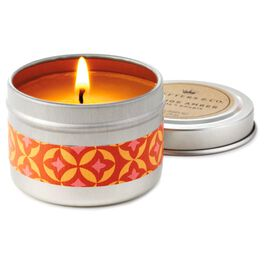 Orange Amber Travel Candle, , large