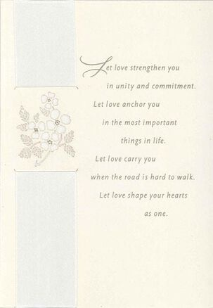 Love Is Your Guide Wedding Card