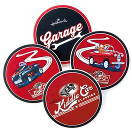 Kiddie Car Classics Coaster Set, , large