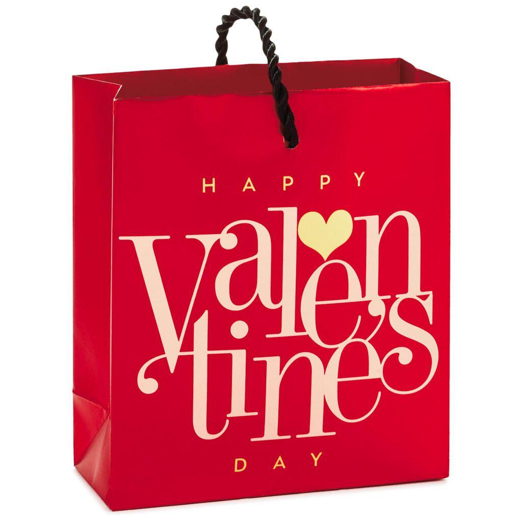 Red Happy Valentine S Day Mini Bag Gift Card Holder 4 6 Gift