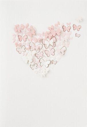 Forever Butterflies Love Card