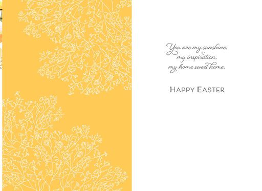 Marjolein Bastin My Sunshine Easter Card for Wife,