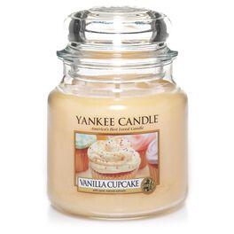 Vanilla Cupcake Medium Jar Candle by Yankee Candle®, , large