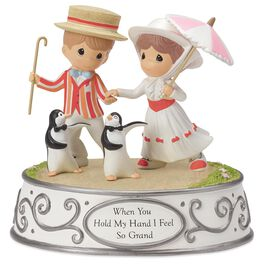 Precious Moments® Mary Poppins and Penguins Musical Figurine, , large