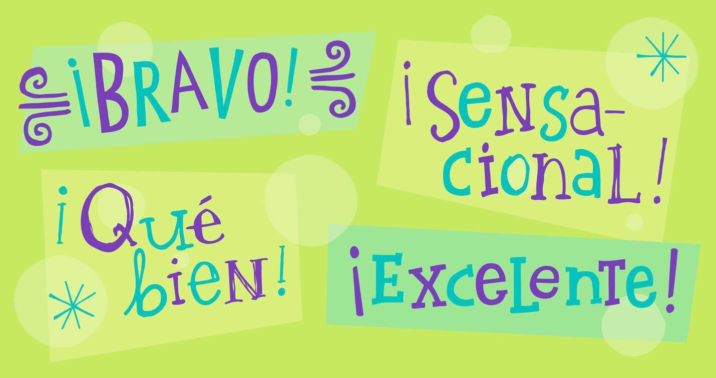 Bravo Well Done Spanish Language Money Holder Congratulations Card