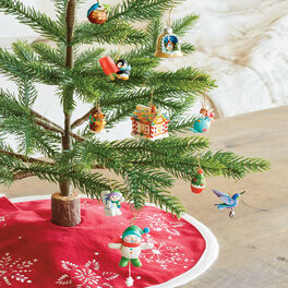 Keepsake Minature Tree and Ornaments, , large