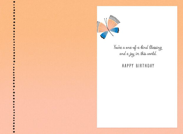 A Beautiful Gift From Heaven Birthday Card For Daughter