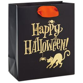"Happy Halloween Small Halloween Gift Bag, 6.5"", , large"