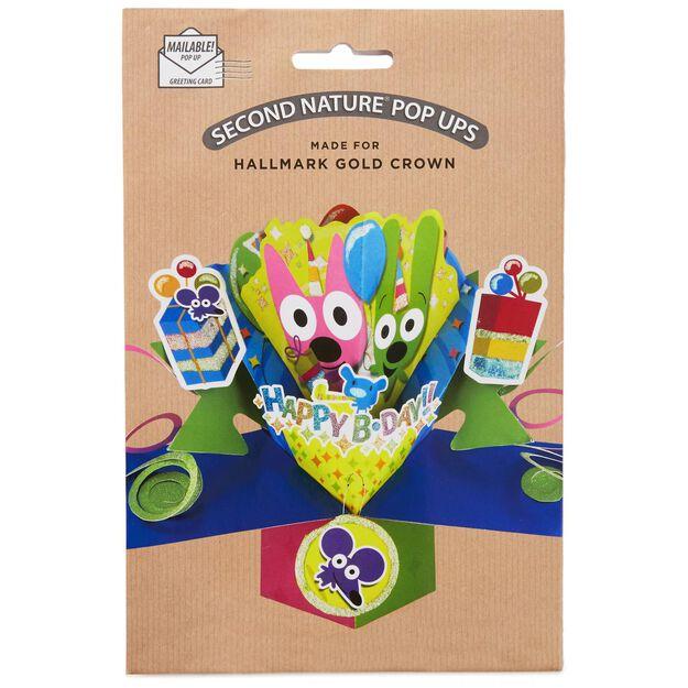 hoopsyoyo PopUp Birthday Card Greeting Cards Hallmark – Pop Up Birthday Card