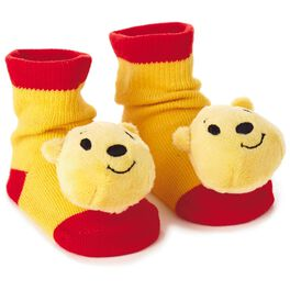 Winnie the Pooh itty bittys® Baby Rattle Socks, , large