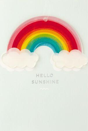 Rainbow Ornament Birthday Card