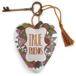 """True Friends Art Heart Sculpture, 4"""", , large"""