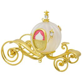 Disney Cinderella's Carriage Glass and Metal Ornament, , large