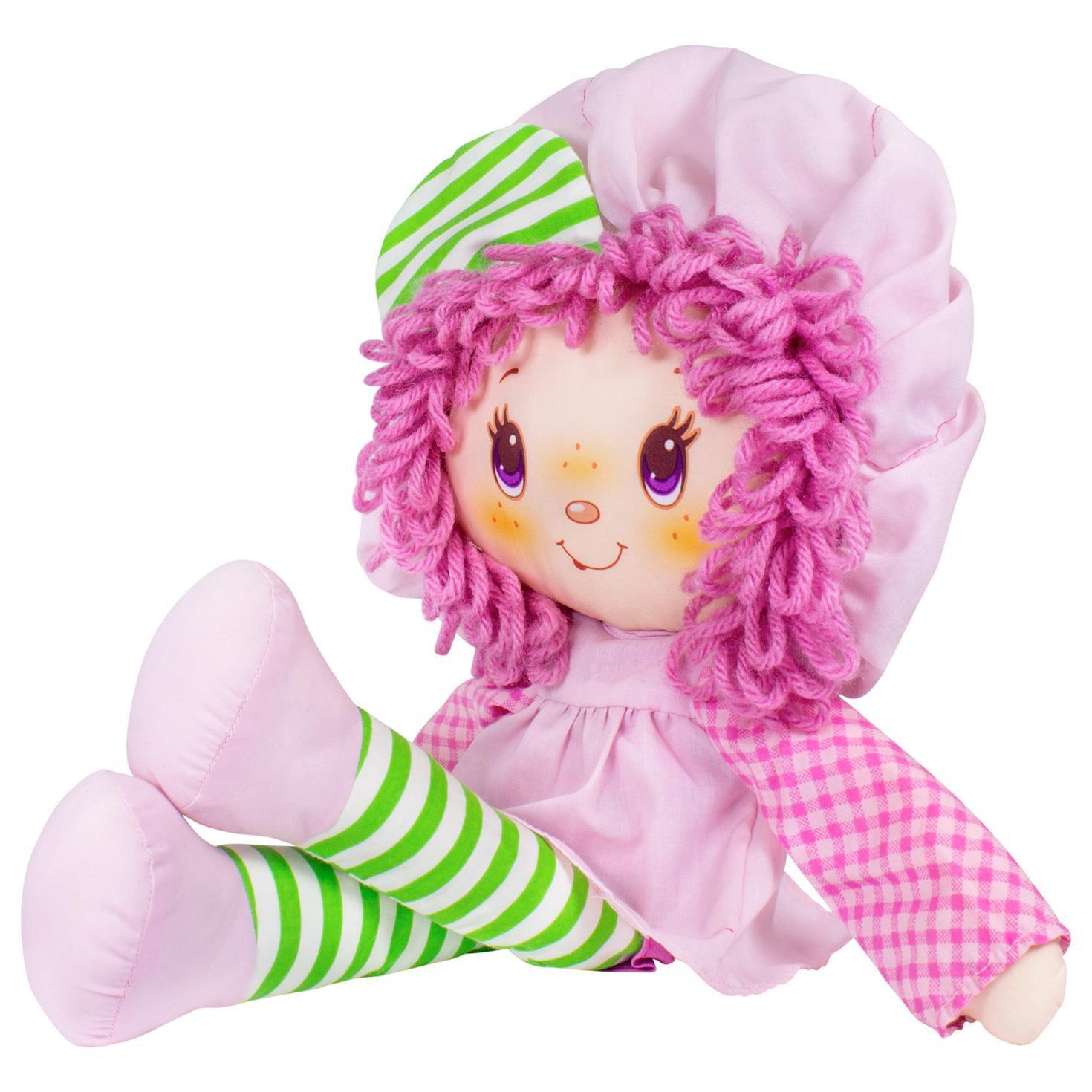 """Strawberry Shortcake Raspberry Tart Retro Soft Doll 14"""" Dolls"""