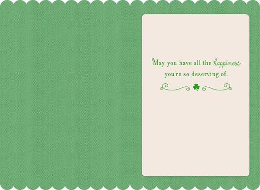Irish Cottage St. Patrick's Day Card,