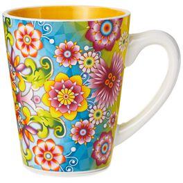 Catalina Estrada Flourishing Blooms Mug, 11 oz, , large