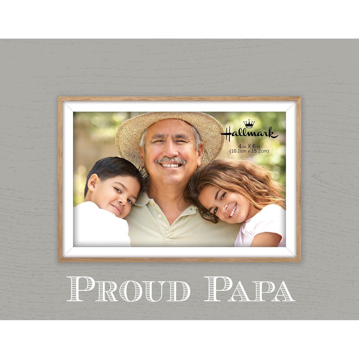 proud papa malden picture frame 4x6