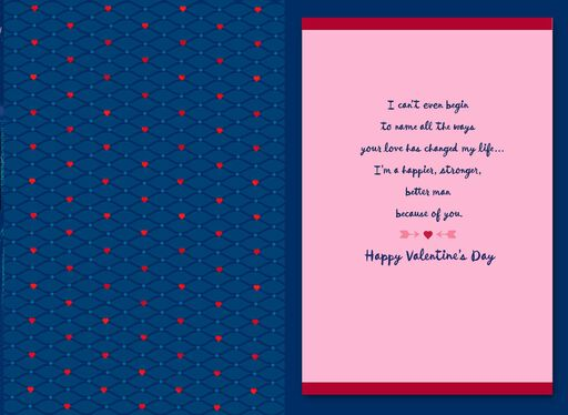 Awesome Woman Valentine's Day Card for Wife,
