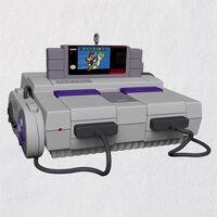 Super Nintendo Entertainment System Console Ornament w/Light Deals
