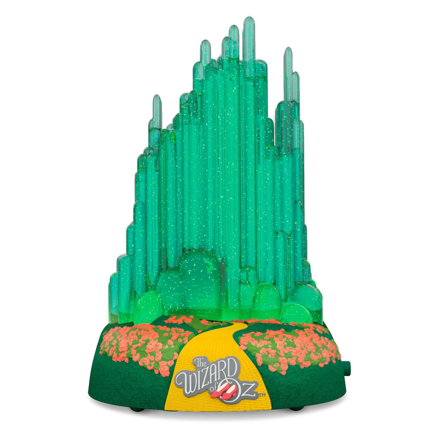 Wizard of oz christmas decorations uk - The Wizard Of Oz Emerald City Musical Ornament With Lights Keepsake Ornaments Hallmark
