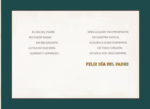 You're Deeply Loved Spanish-Language Father's Day Card for Grandpa,