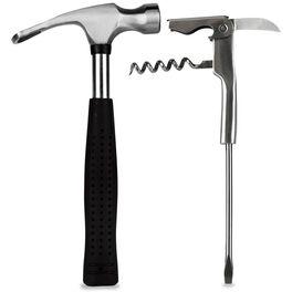 Hammer Bottle Opener and Screwdriver Corkscrew Bar Tools Set, , large