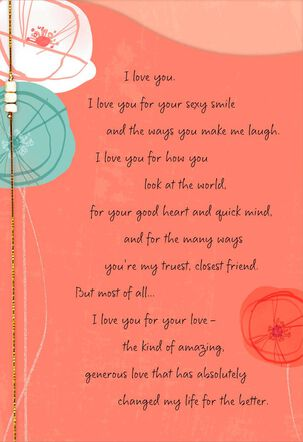 Deeply and Forever Love Card