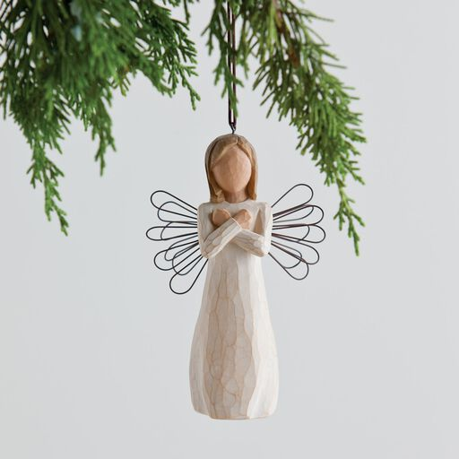 ... Willow Tree® Sign Language for Love Ornament, - Willow Tree Hallmark