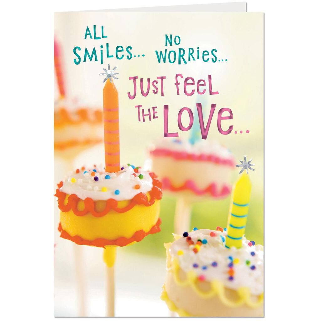 Love And Blessings Religious Birthday Card