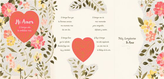 Time makes you more beautiful spanish language wife birthday card time makes you more beautiful spanish language wife birthday card bookmarktalkfo Choice Image