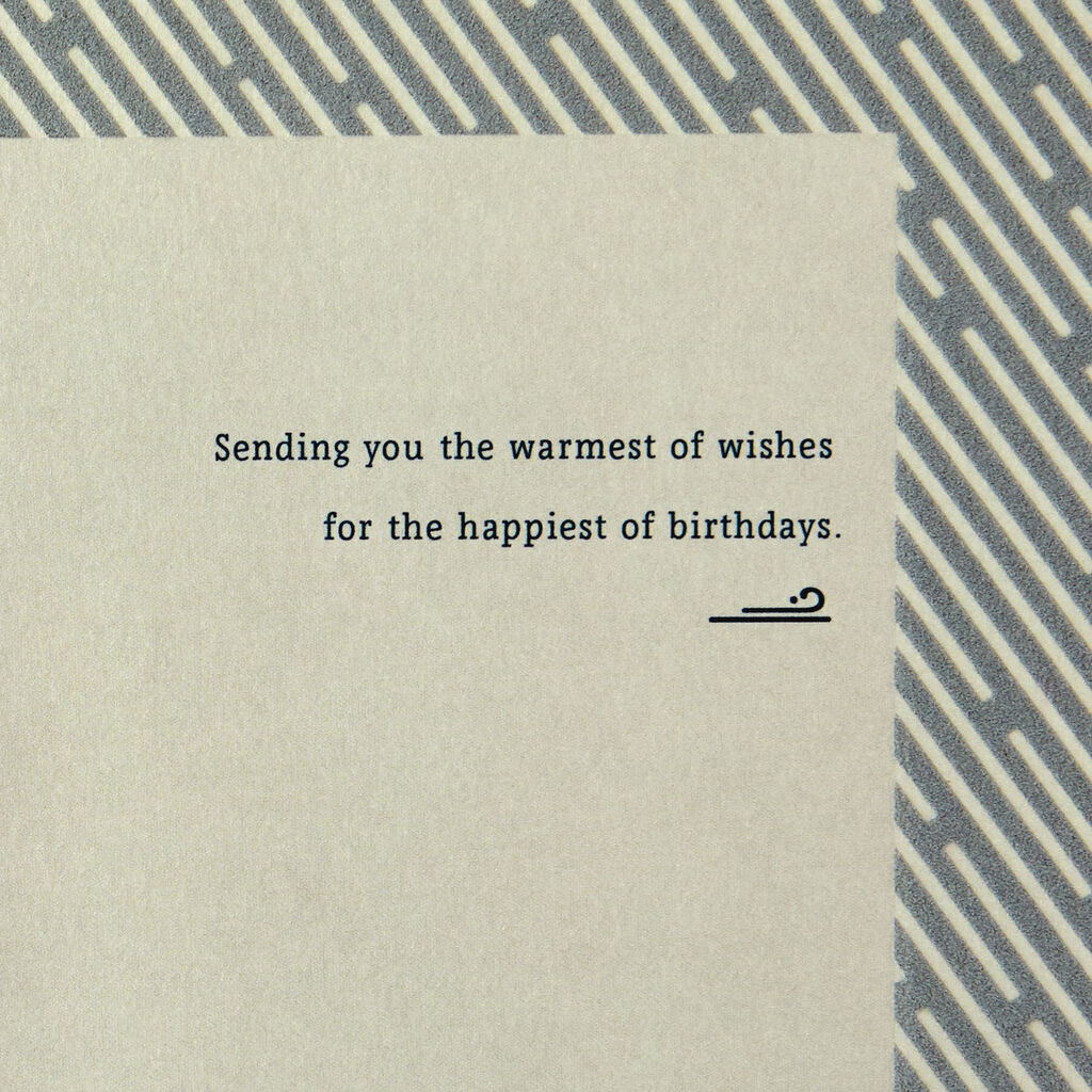 Lifelong Love Birthday Card for Brother