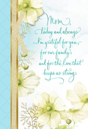 Marjolein Bastin Love Keeps Us Strong Mother's Day Card