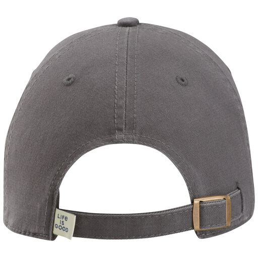 best service c93ab 562f3 ... Life is Good Men s Papa Bear Patch Gray Baseball Cap,