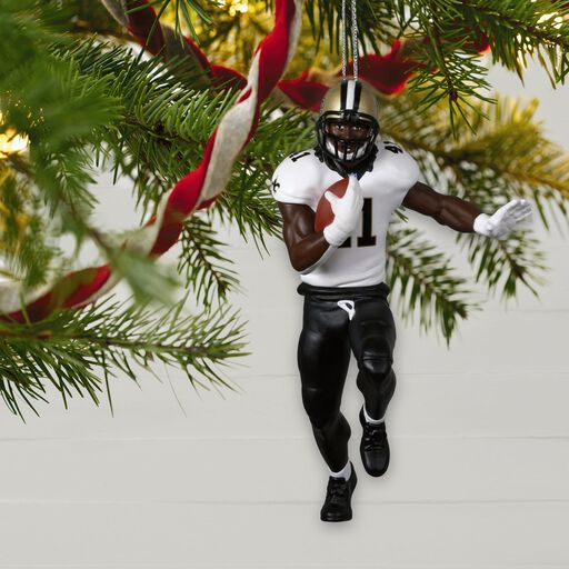 New Orleans Saints Christmas Ornaments.New Orleans Saints Jersey Ornament Keepsake Ornaments
