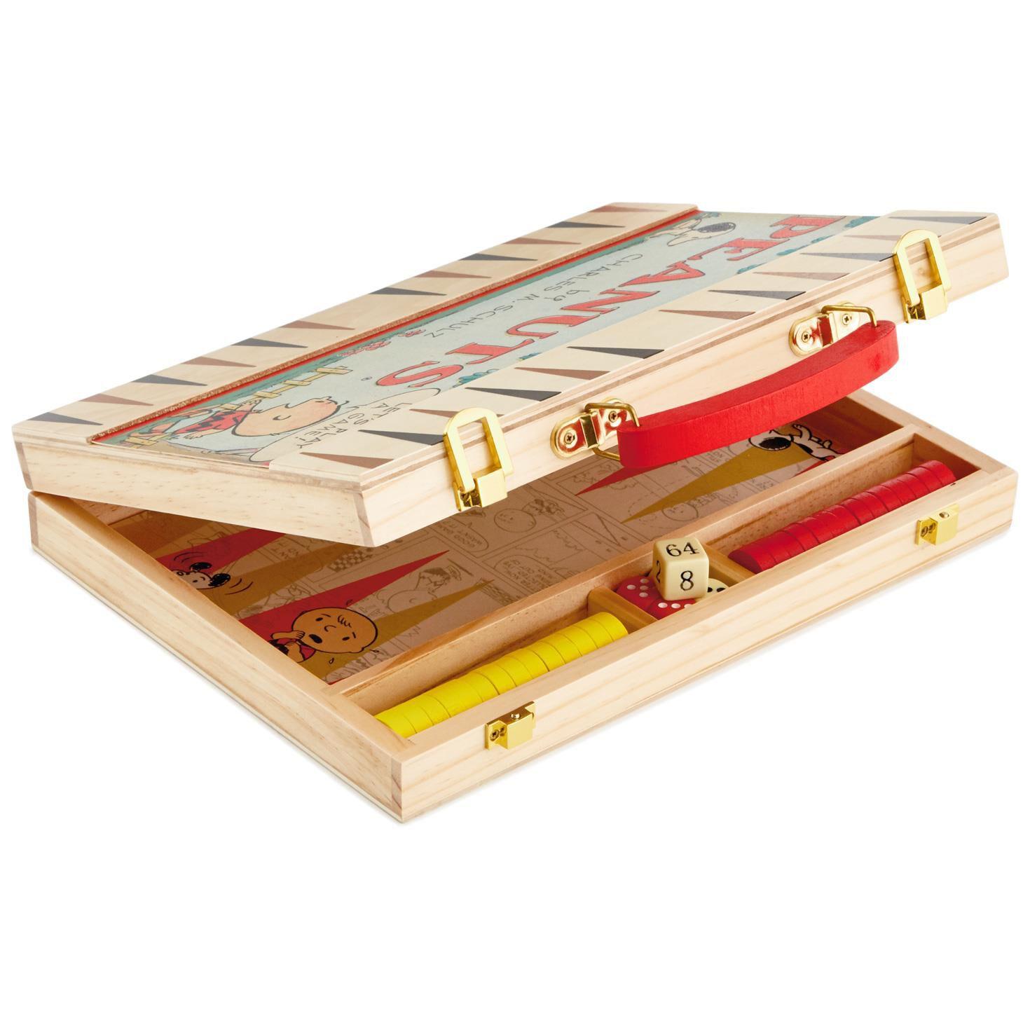 peanuts backgammon game set peanuts backgammon game set - Backgammon Game
