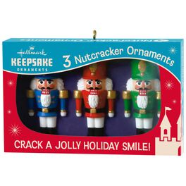 Nutcracker Nifty Fifties Keepsake Ornaments, Box of Retro Glass Ornaments, , large