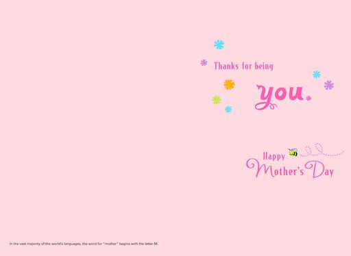 All of Mom's Attributes Mother's Day Card,
