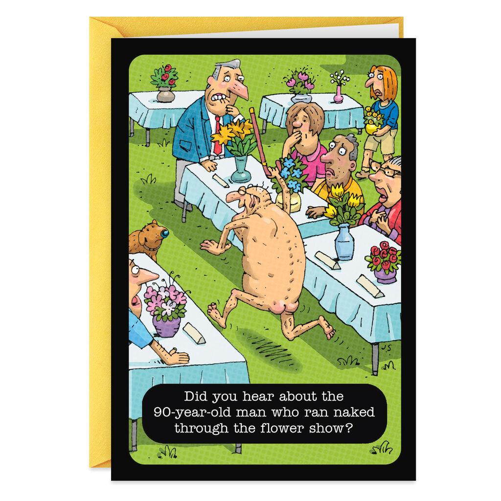Best Dried Arrangement Funny Birthday Card