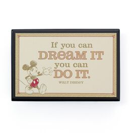 Disney If You Can Dream It… Small Plaque, , large