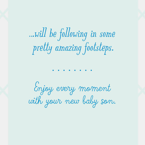 NEW BABY BOY  New baby announcement cards  Set of new baby cards  New baby boy cards  Baby boy cards  Blue baby cards