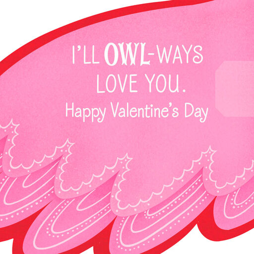 9e175b4ed ... Owl-ways Love You Valentine's Day Card,