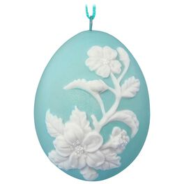 Signs of Spring Flowers Easter Ornament, , large
