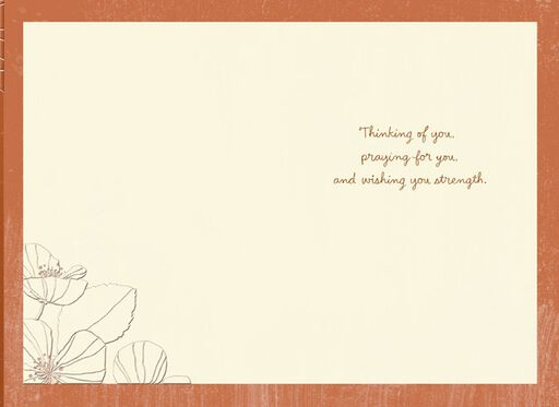 Hold On To Faith Encouragement Card,