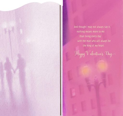 A Dream Come True Romantic Valentine's Day Card,